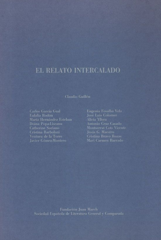 El relato intercalado (1992)